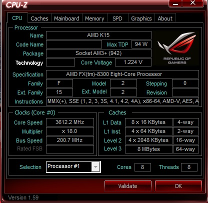 FX 8300 turbo core