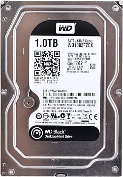 Жёсткий диск Western Digital 1Tb Caviar Black 3.5